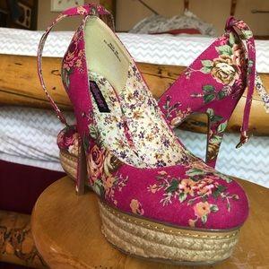 Platrform, 3 inch heels shoes